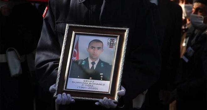 Şehit Piyade Teğmen Sönmez son yolculuğuna uğurlandı