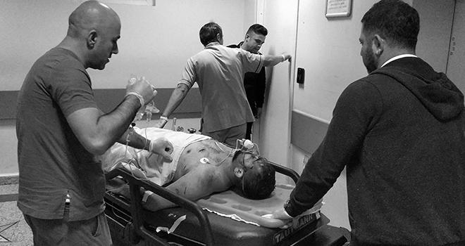 Millet Bahçesi inşaat alanında 3 kişiyi bıçakla yaralayan yakalandı