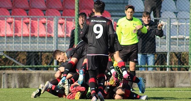 Yılport Samsunspor U17 Son Dakikada Güldü