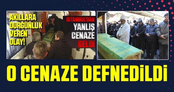 İstanbul'da KarışanCenaze Defnedildi
