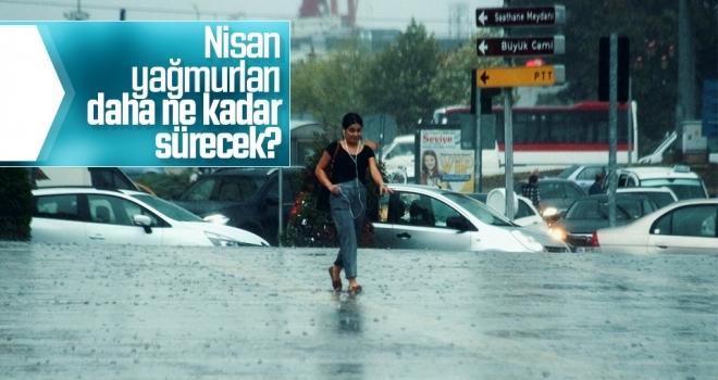 Nisan yağmurları daha ne kadar devam edecek?