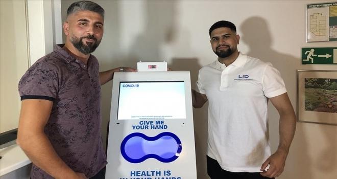 Türk firmanın ürettiği 'el dezenfekte cihazı' İsveç'te satışa sunuldu