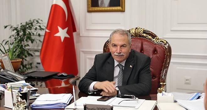 Başkan Demirtaş: Ortak sevdamız Samsunspor'a başarılar dilerim