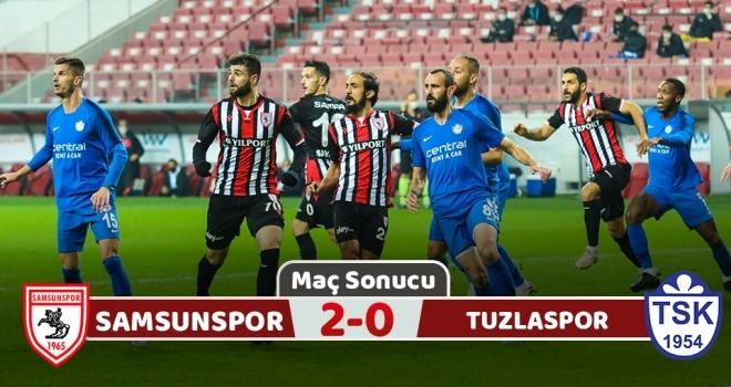 Yılport Samsunspor: 2 Tuzlaspor: 0 (Maç sonucu)