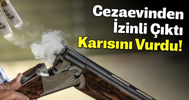 Samsun'da Cezaevinden İzinli Çıkan Şahıs Karısını Tüfekle Vurdu
