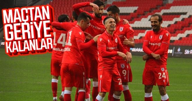 Yılport Samsunspor - Zonguldak Kömürspor maçından geriye kalanlar