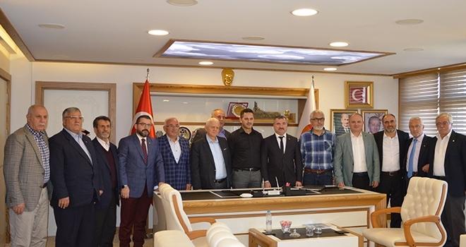 AK Parti Kurucu İlçe Başkanları Havza'da