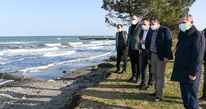 Başkan Demir, Atakum'da incelemede bulundu