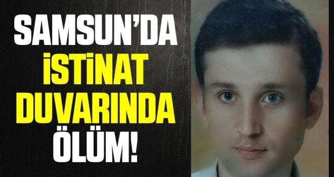 Samsun'da İstinat Duvarında Ölüm!