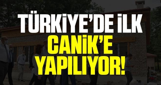 Türkiye'de İlk! Canik'eOrman Okulu