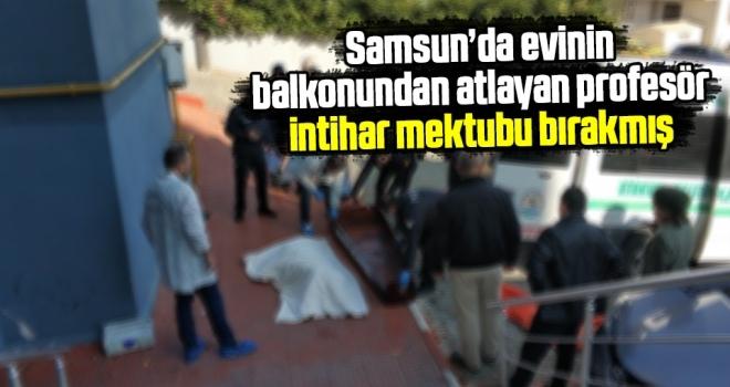 Samsun'da Profesör Dr. Emine Coşkun İntihar Etti!