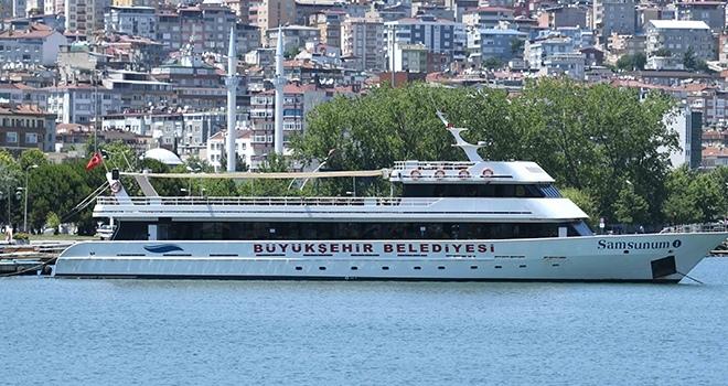 Gemilerle gezi turları başlatıldı