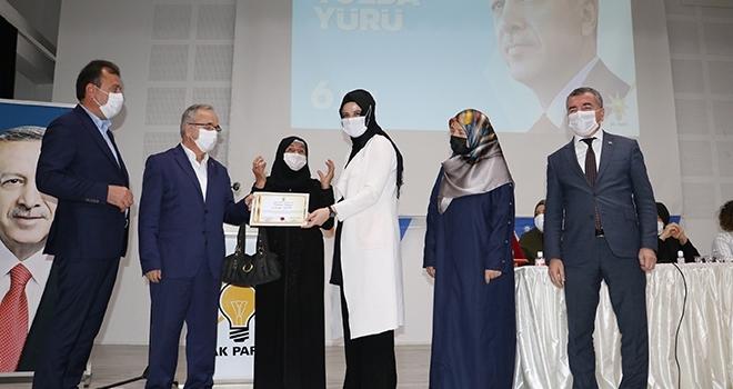 AK Parti Havza KadınKolları Başkanı Ümran Uğurlu oldu