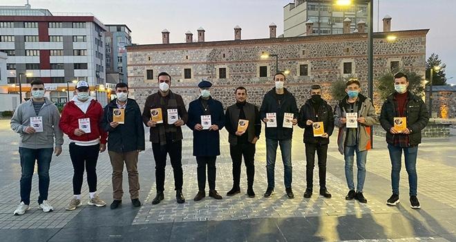 AK Gençlerden 'Kaputa Vur İlkadım' kampanyası
