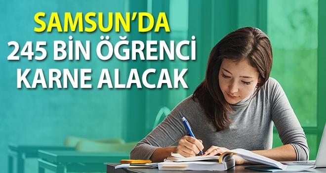 Samsun'da 245 Bin ÖğrenciKarne Heyecanı Yaşayacak