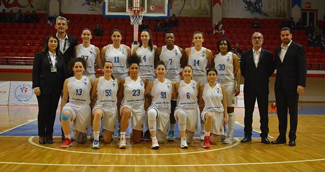 Samsun Basketbol 1919: 62 OGM Ormanspor: 117