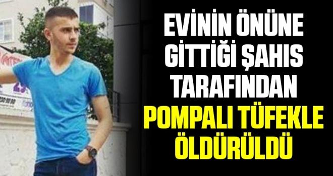 Samsun'da Evinin Önüne Gittiği Şahıs Tarafından Pompalı Tüfekle Öldürüldü