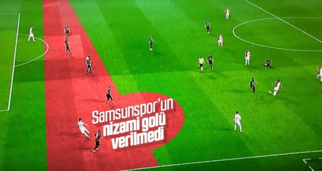 Samsunspor'un nizami golü verilmedi