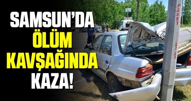 Samsun'da 'Ölüm kavşağı'nda kazasız gün yok!