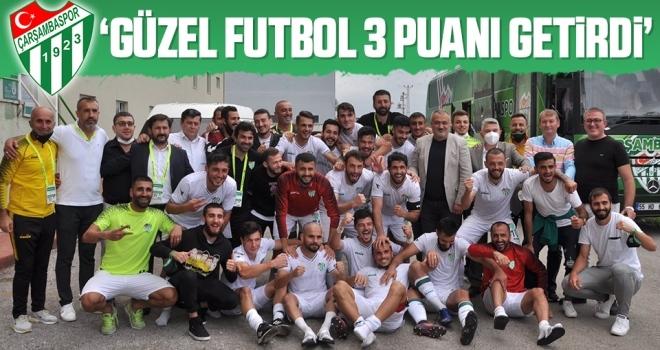 Çarşambaspor Kulübü Başkanı Özkan Yıldırım: Güzel Futbol 3 Puanı Getirdi