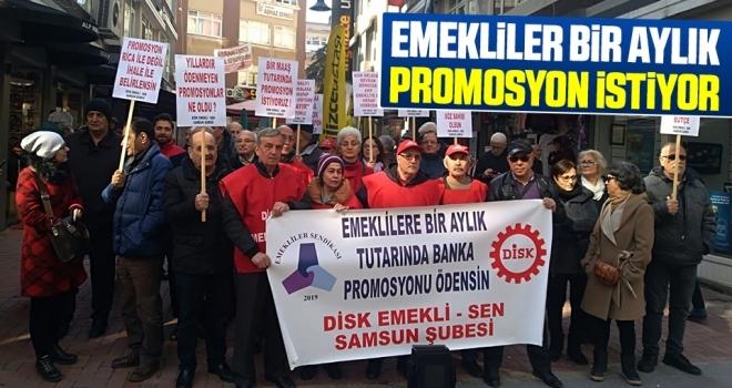 Emekliler Sendikası Başkanı Tacettin Aydın: Emekliler Bir Aylık Promosyon İstiyor
