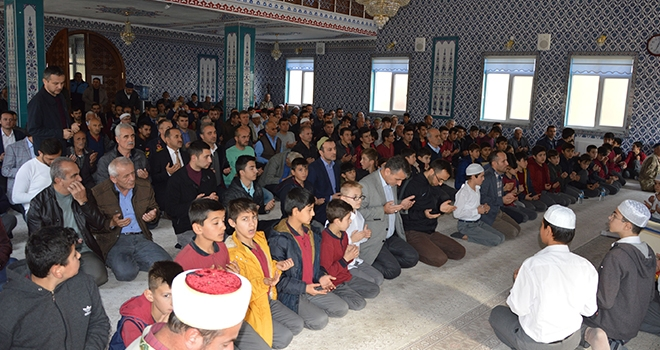 Samsun'da Şehit öğretmenlere dua