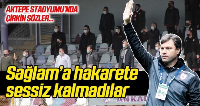 Samsunspor yönetimi, Sağlam'a hakarete sessiz kalmadı