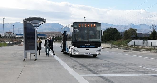 Türkiye'nin sürücüsüz otobüsütestleri başarıyla geçti