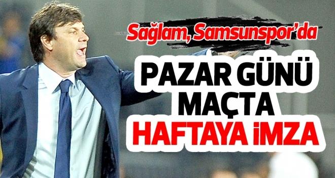 Ve... Ertuğrul Sağlam Yılport Samsunspor'da