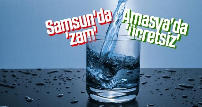 Samsun'da 'zam' Amasya'da 'ücretsiz'