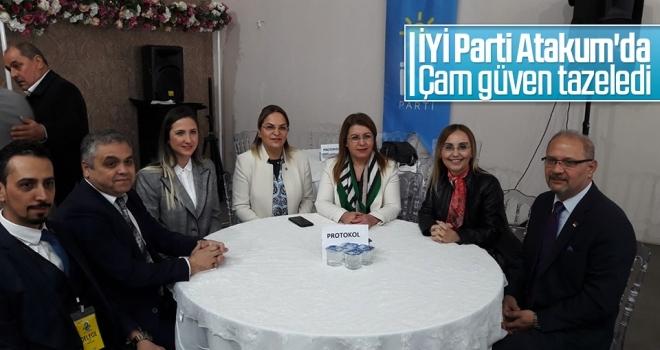 İYİ Parti Atakum'da Çam güven tazeledi