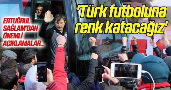 Yılport Samsunspor Teknik Direktörü Sağlam: 'Türk futboluna renk katacağız'