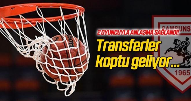 Samsunspor'da transferler koptu geliyor!