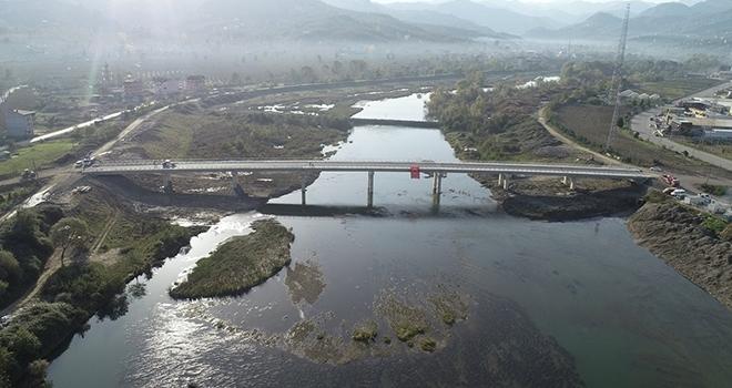 Melet Köprüsü tamamlandı