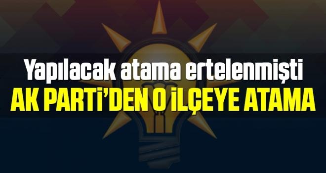 AK Parti'denKavak'a Atama