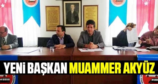 S.S. 13 Nolu 19 Mayıs Minibüs ve Otobüsçüleri Motorlu Taşıyıcılar Kooperatifinin yeni Başkanı Muammer Akyüz