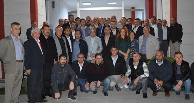 MHP Samsun İl Başkanı Abdullah Karapıçak İstanbul'da 'seçim için' çalışıyor