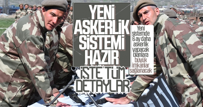 Milli Savunma Bakanı Akar, yeni askerlik sisteminin detaylarını anlattı