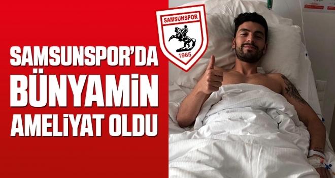 Yılport Samsunspor'da Bünyamin Cesur Karataş Ameliyat Oldu