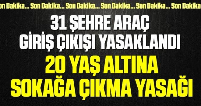 Cumhurbaşkanı Erdoğan corona virüsüyle mücadelede yeni tedbirleri açıkladı!