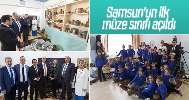 Samsun'un ilk müze sınıfı açıldı