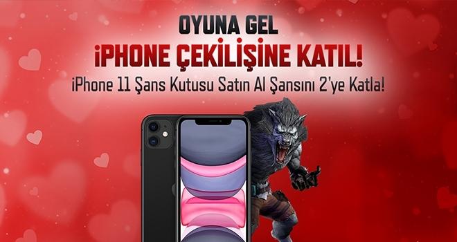Wolfteam, iPhone 11 kazandırıyor