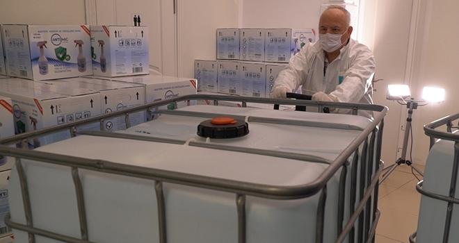 Corona İle Mücadeleye Sabanco Holding'den 10 Ton Yeni Nesil Dezenfektan Desteği