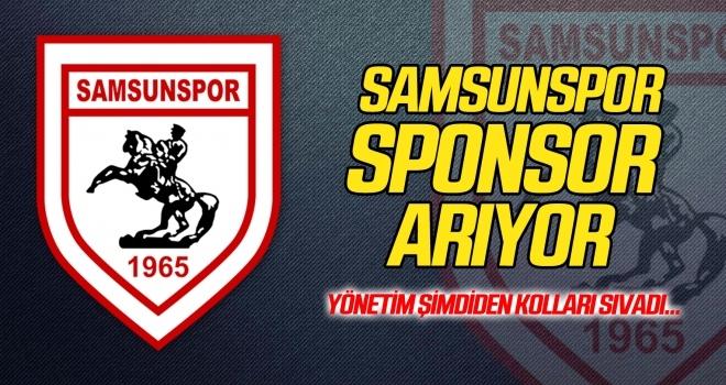 Samsunspor sponsor arıyor! Yönetim şimdiden kolları sıvadı...