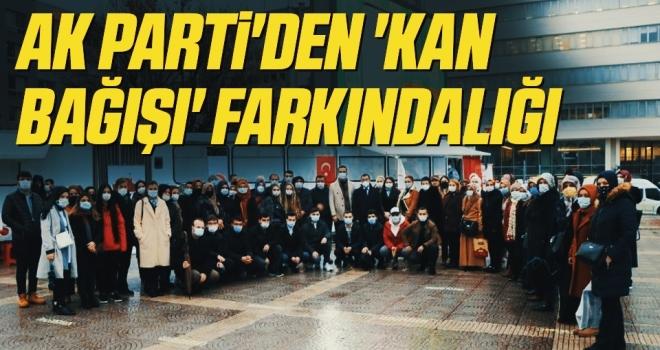 AK Parti'den 'kanbağışı' farkındalığı