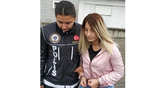 Samsun'da Torbacı kadınaadli kontrol kararı
