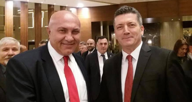 Samsunspor yöneticisi Zorlu'dan Başkan Yıldırım'a destek