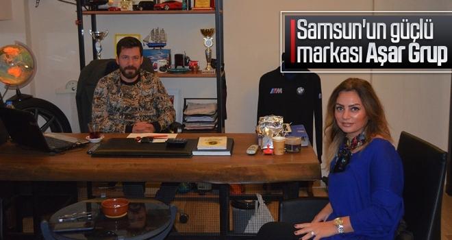 Samsun'un güçlü markası Aşar Grup