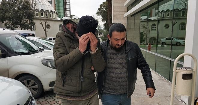 Samsun'da kız arkadaşını darp edip cep telefonunu gasp ettiği iddia edilen şahıs gözaltına alındı
