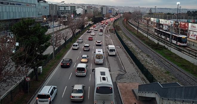 Samsun'da taşıt sayısı 379 bin 238 oldu